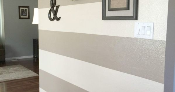 How to paint wall stripes wandgestaltung wohnideen und for Farbmuster wohnzimmer
