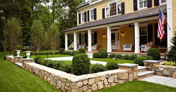Curb appeal landscape ideas help me drew pinterest for Help me landscape my front yard