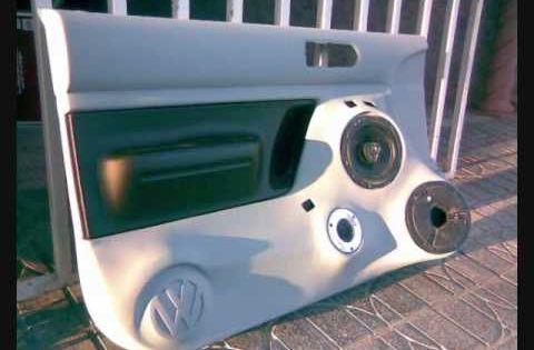 Custom Fiberglass Beetle Speaker Door Panel Panel Doors Custom Consoles Fiberglass
