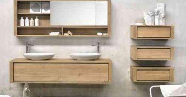 meuble salle de bains id es magnifiques miroir original salle de bain en bois meuble salle de. Black Bedroom Furniture Sets. Home Design Ideas