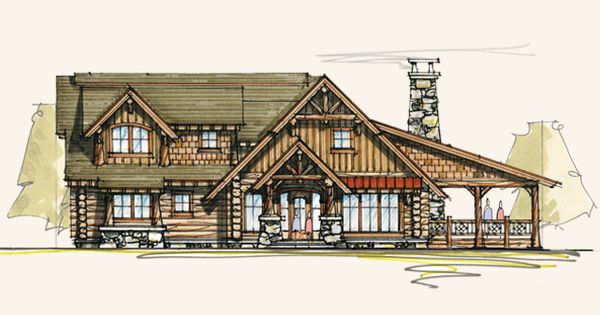 Timberline Luxury Log Homes Timber Frame Home Designs
