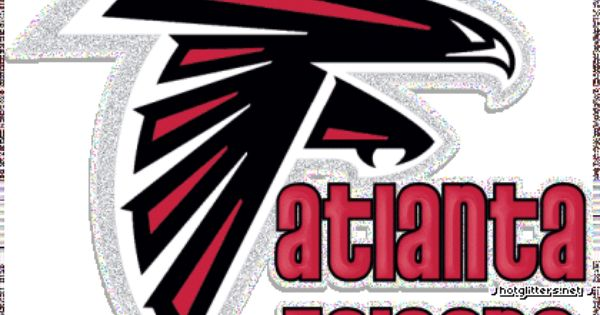 Atlanta Falcons Glitter Logo Atlanta Falcons Fans Atlanta Falcons Wallpaper Falcons Football