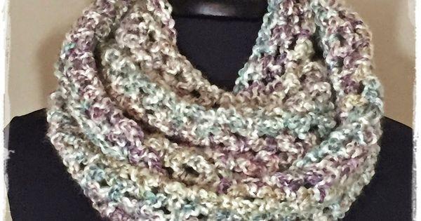 Infinity Scarf Knitting Pattern Lion Brand : Chunky cowl with Lion Brand Homespun yarn. Easy cowl scarf crochet pattern. ...