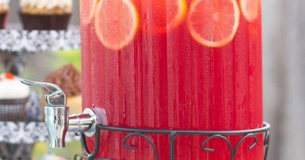 Pink Lemonade Sparkling Fruit Punch... Ingredients: 4 cans of frozen lemonade concentrate