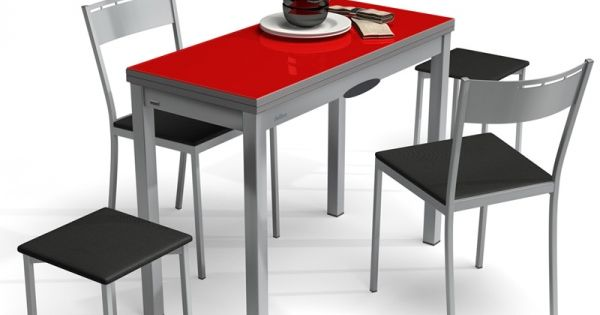table de cuisine extensible en verre table petit espace delibro modularit espace. Black Bedroom Furniture Sets. Home Design Ideas