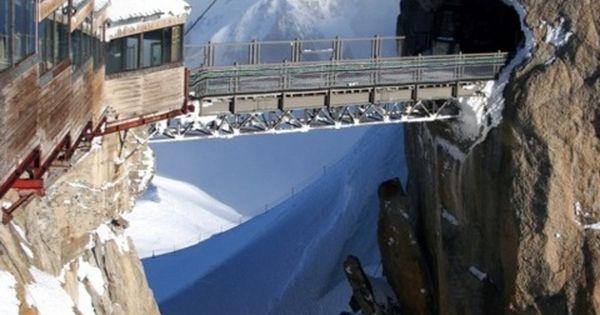 Highest Point in Europe ~~ duMidi, Chamonix, France
