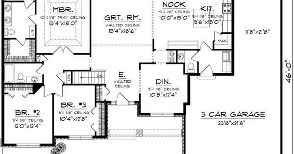 Traditional Plan Plan And Floor Plans On Pinterest
