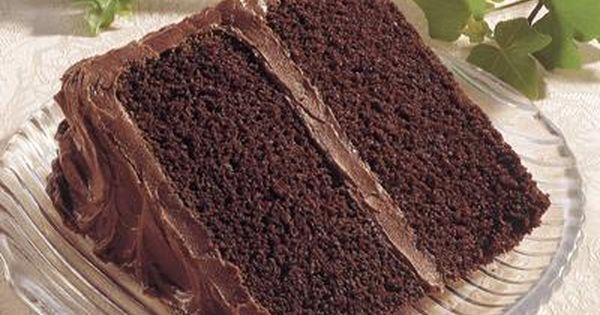 Celebrate with HERSHEY'S - Winter Holidays Old Fashioned Chocolate Cake Recipe