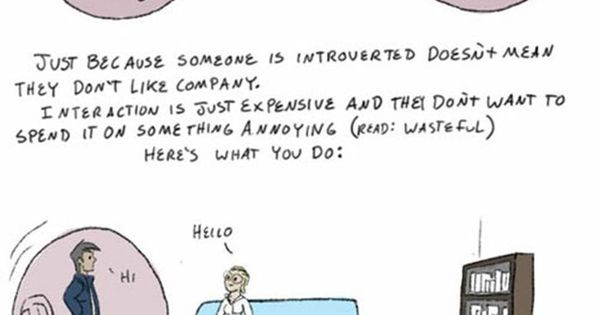 Dr. Carmella's Guide to Understanding the Introverted --For those who think I'm
