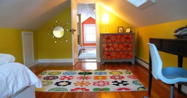 Convert The Attic Into Two Bedrooms For Kids Nifty Attic Remodel Attic Renovation Attic Design