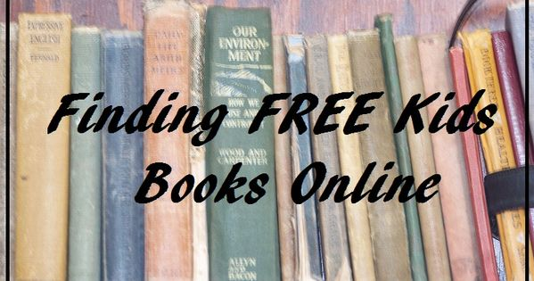 Lots of free online books and audio books for kids