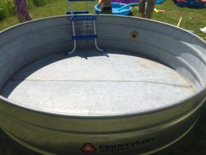 How To Make A Stock Tank Pool Tank Swimming Pool Stock Tank Pool Tank Pool