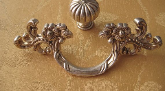 French Country Kitchen Cabinet Handle Pull Antique