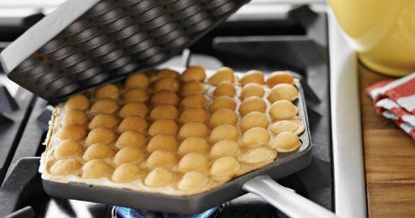 omg an eggettes waffle iron!! -- nordic ware egg waffle pan |