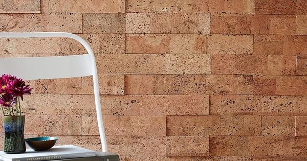 Peel Stick Cork Wall Tiles Each Set Covers 20 Square