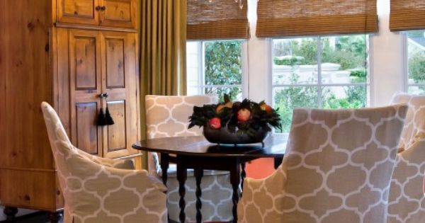 Dining Chair Slipcovers Design, Pictures, Remodel, Decor and Ideas - page 2