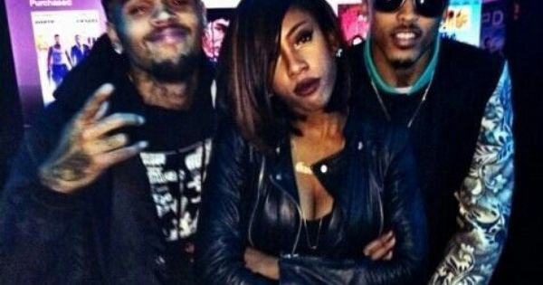 Chris Brown Sevyn Streeter and August Alsina | Swag Me Out ...