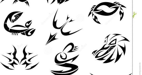 Zodiaque tribal tatouages tatoos pinterest zodiaque tatouages et signe zodiaque - Tatouage amour perdu ...