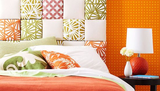 Easy Upholstered Headboard, like the pattern of head board in a different