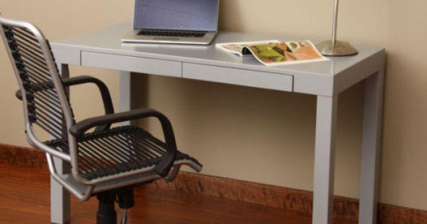 Grey Attractive Student Desk Computer Laptops Study Kid