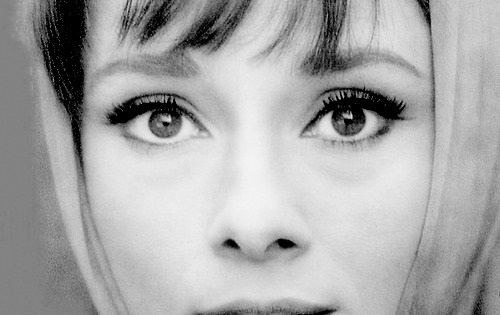 The beautiful Audrey Hepburn eyes