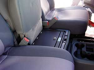 Wondrous Ram 1500 Truck Safe From Console Vault Dodge Ram 1500 Gmtry Best Dining Table And Chair Ideas Images Gmtryco
