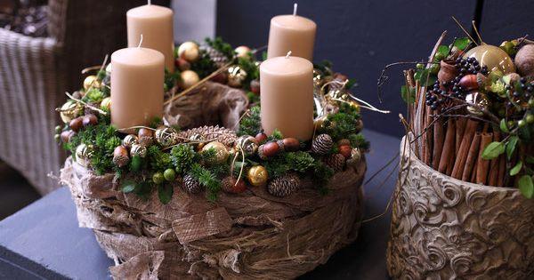 Weihnachtsgestecke 2015 Weihnachten 2017 Pinterest