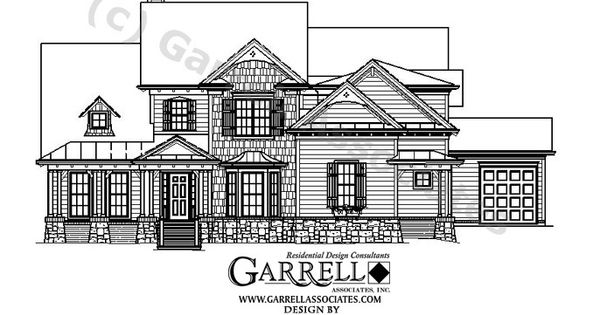 Garrell associates inc beaumoore house plan 05298 for Southern craftsman home plans