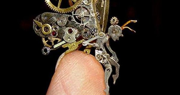 New-Jersey based artist Susan Beatrice has become known for her spectacular steam punk sculptures made