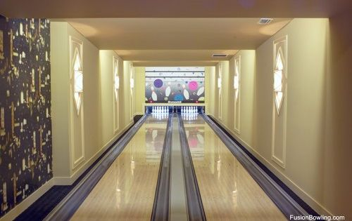 Ocala Fl Horse Ranch Bowling Alley In The Basement For The Humans Not The Horses Home Bowling Alley Bowling Alley Modern Basement