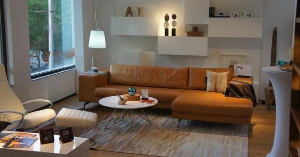 BoConcept Morini Sofa Wing Chair And Volani Wall System
