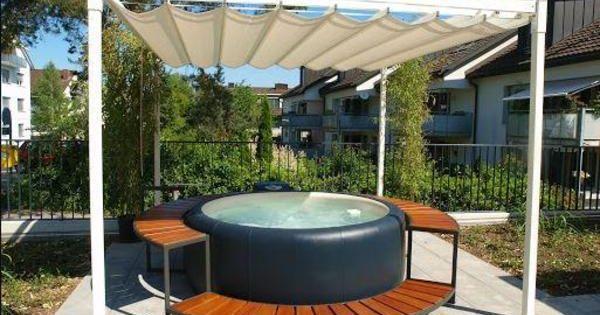 Simple Whirlpool Softub Sonstiges f r den Garten Balkon Terrasse Garten Pinterest
