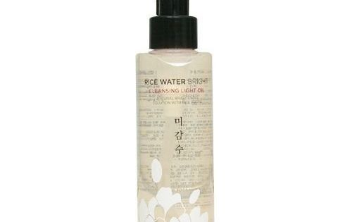 The Face Shop Rice Water Bright Cleansing Light Oil, $10 | 22
