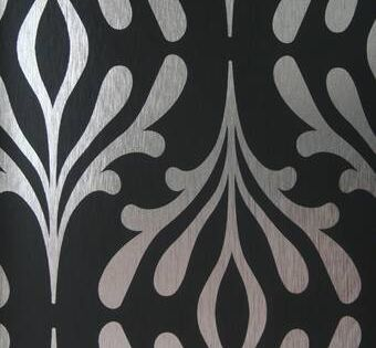 Mid Century 33 L X 21 W Wallpaper Roll In 2020 Wallpaper Roll Damask Wallpaper Candice Olson