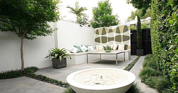 Peque os jardines minimalistas im genes de jardines for Patios pequenos minimalistas