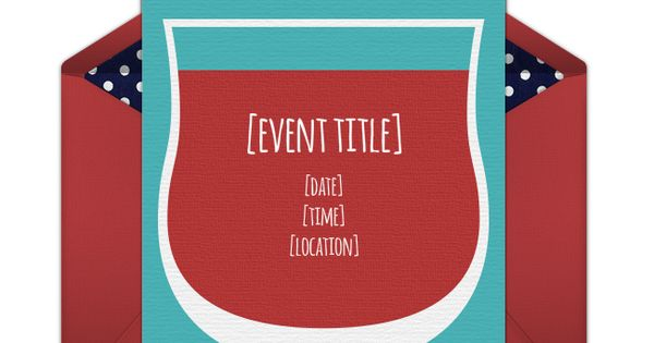 Free Wine Time Invitations | Wine time, Cocktail party invitation and Wine tasting