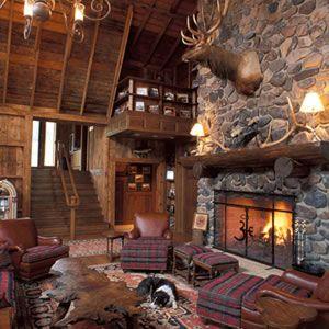 Pin Van Hunt Gather Vintage Vintag Op Gentlemen S Lounge Lodge Stijl Afbeeldingen Huis