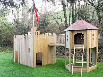 Looks Like A Job For Papaw And Popper Okay Maybe They Will Let Daddy Help D Play Houses Backyard Play Kids Castle