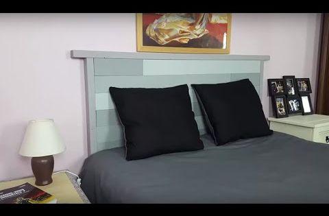 vid o fabrication d 39 une t te de lit bricolage pinterest montres et youtubers. Black Bedroom Furniture Sets. Home Design Ideas