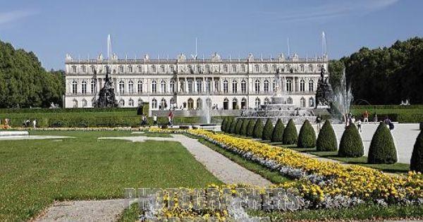 Herrenchiemsee New Palace Lake Chiemsee Germany Royal Palace