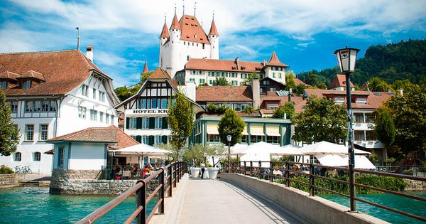Thun, Switzerland by coolsneakers2000, via Flickr