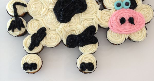 Cow Cupcake Cake Cakerun Pinterest Creative Mothers