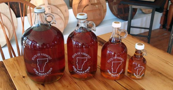 Pure Vermont maple syrup, freshly tapped March 13'. US Grade A Medium ...