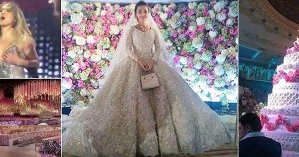 Multi Million Dollar Weddings That Will Make Your Jaw Drop Million Dollar Wedding Fairytale Wedding Gown Wedding