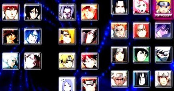 Bleach Vs Naruto 3 0 All The Skills Of The Characters Part 2 Naruto Bleach Skills