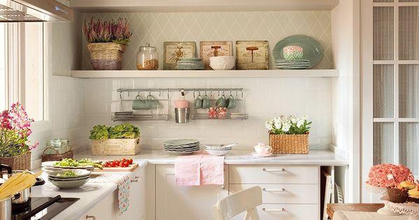 Un papel muy pr ctico el papel pintado de la cocina es - El practico de cocina ...