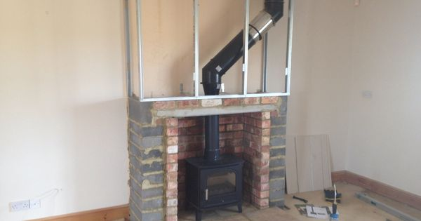 False Chimney Breast Fitted 2014 By Colesforfires Co Uk