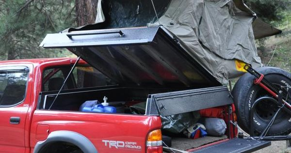 Willman S 2001 Tacoma Bed Storage With Hinged Roof Top