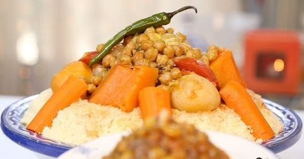 Choumicha couscous marocain aux l gumes vf youtube - Cuisine choumicha youtube ...