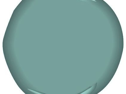 Benjamin Moore- Antiqued Aqua Paint color for the master bedroom? Maybe?